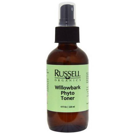 Russell Organics, Willowbark Phyto Toner 120ml