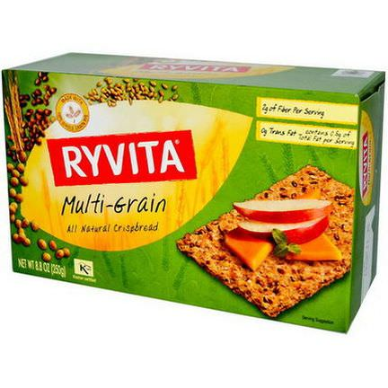 Ryvita, All Natural Crispbread, Multi-Grain 250g
