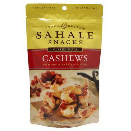Sahale Snacks, Cashews, With Pomegranate Vanilla 113g