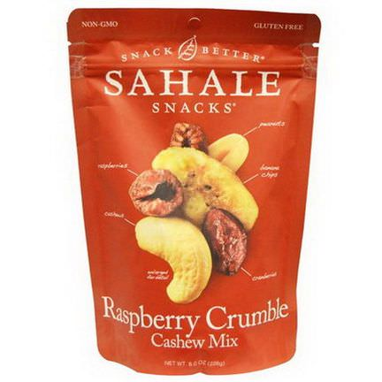 Sahale Snacks, Raspberry Crumble Cashew Mix 226g