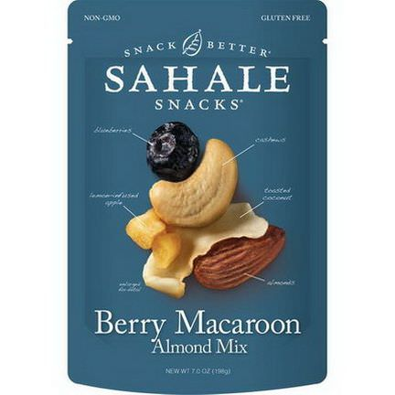 Sahale Snacks, Snack Better, Berry Macaroon Almond Mix 198g