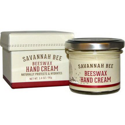 Savannah Bee Company Inc, Beeswax Hand Cream 96g