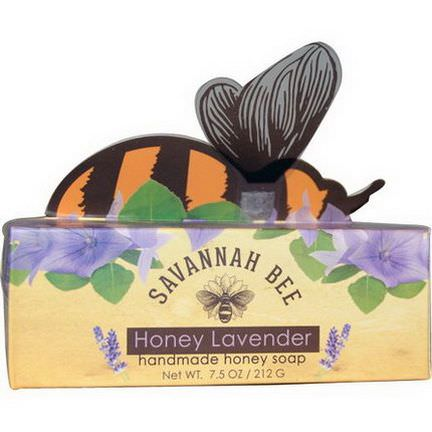 Savannah Bee Company Inc, Handmade Honey Soap, Honey Lavender 212g