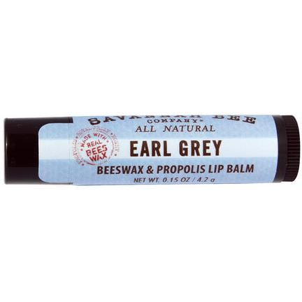Savannah Bee Company Inc, Lip Balm, Earl Grey 4.2g