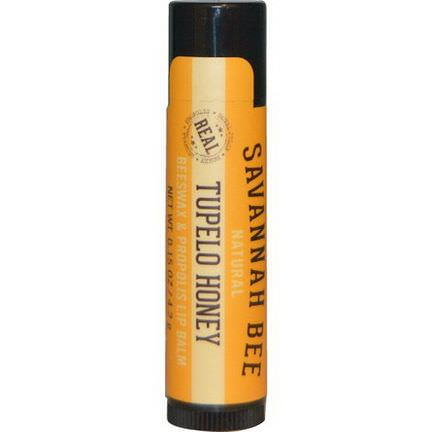 Savannah Bee Company Inc, Lip Balm, Tupelo Honey 4.2g