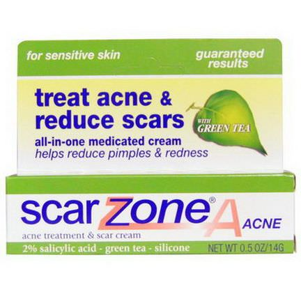 Scar Zone, Acne Treatment&Scar Cream 14g