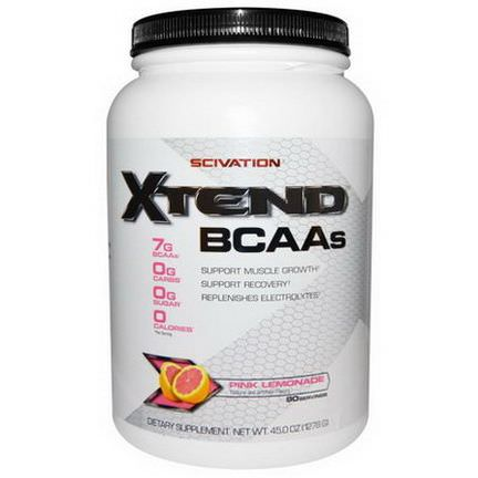 Scivation, Xtend, Intra-Workout Catalyst, Pink Lemonade 1278g