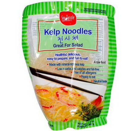 Sea Tangle Noodle Company, Kelp Noodles 340g