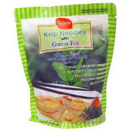 Sea Tangle Noodle Company, Kelp Noodles, with Green Tea 340g
