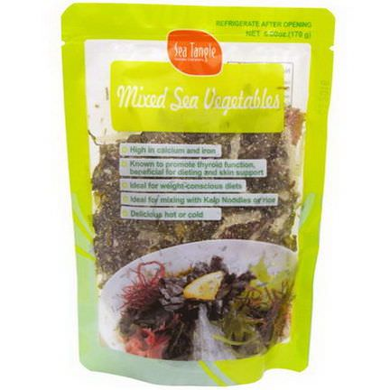 Sea Tangle Noodle Company, Mixed Sea Vegetables 170g