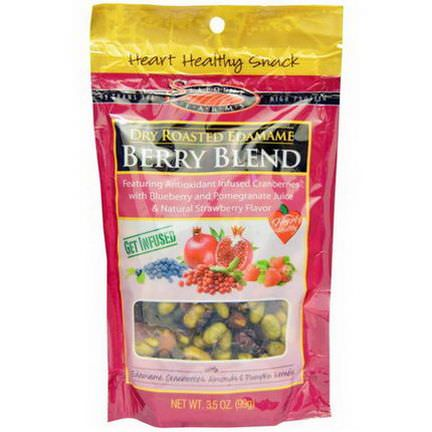 Seapoint Farms, Dry Roasted Edamame, Berry Blend 99g