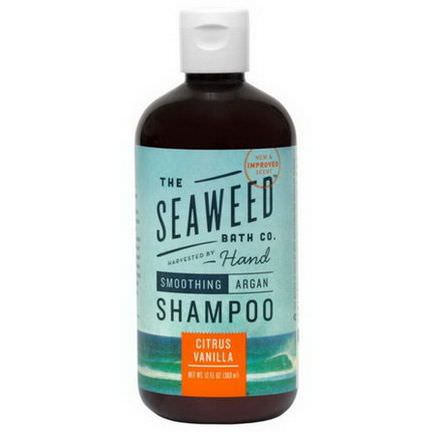 Seaweed Bath Co. Smoothing Argan Shampoo, Citrus Vanilla 360ml