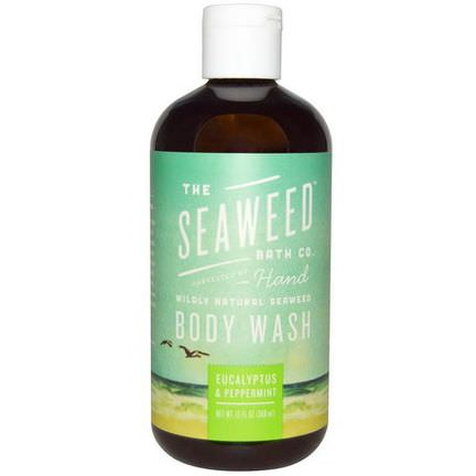 Seaweed Bath Co. Wildly Natural Seaweed Body Wash, Eucalyptus&Peppermint 360ml