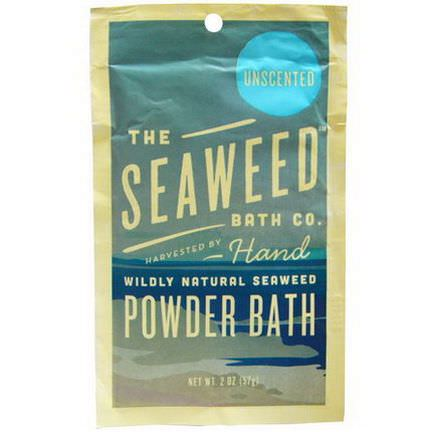 Seaweed Bath Co. Wildly Natural Seaweed Powder Bath, Unscented 57g