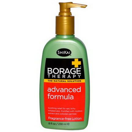 Shikai, Borage Therapy, Advanced Formula Lotion, Fragrance-Free 238ml