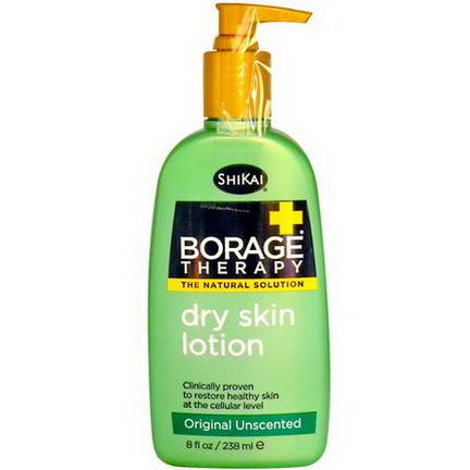 Shikai, Borage Therapy, Dry Skin Lotion, Original Unscented 238ml