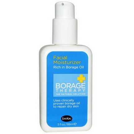 Shikai, Borage Therapy, Facial Moisturizer 89ml