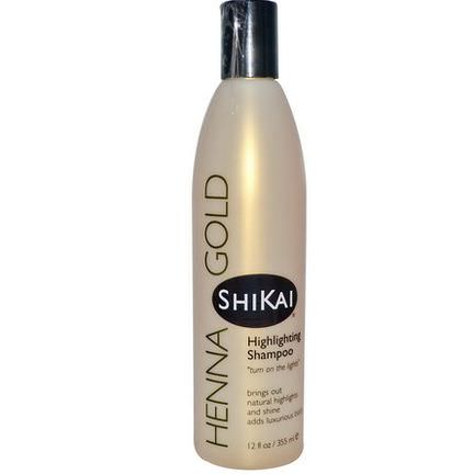 Shikai, Henna Gold, Highlighting Shampoo 355ml