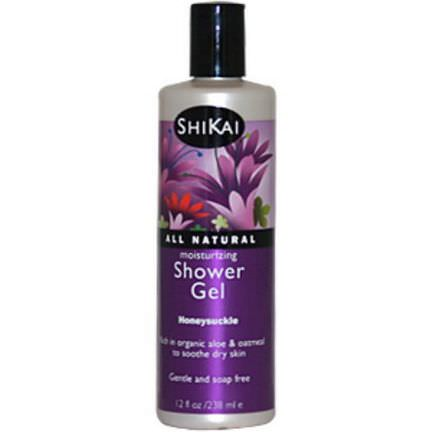 Shikai, Moisturizing Shower Gel, Honeysuckle 238ml