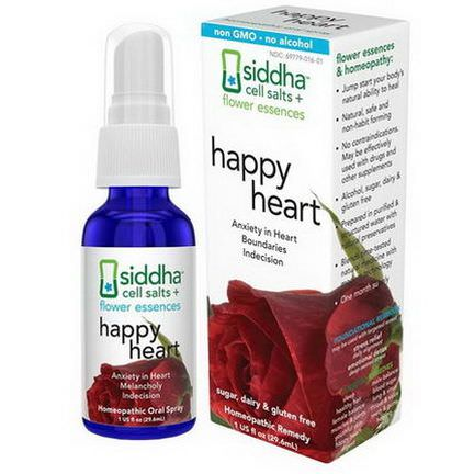 Siddha Flower Essences, Heart 29.6ml