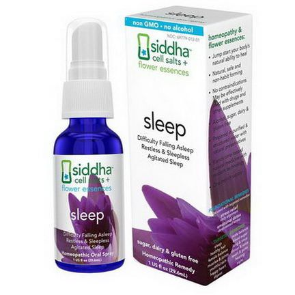 Siddha Flower Essences, Sleep 29.6ml