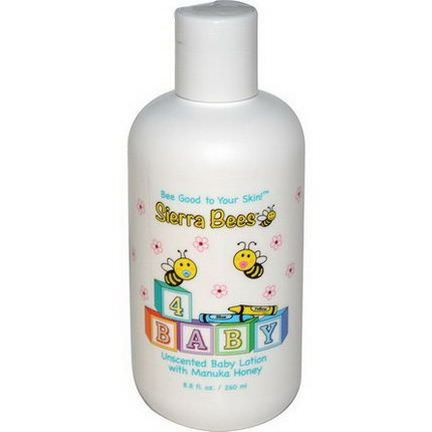 Sierra Bees, Baby Lotion with Manuka Honey, Unscented 260ml