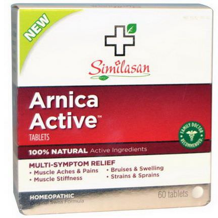 Similasan, Arnica Active, 60 Tablets