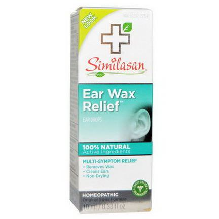 Similasan, Ear Wax Relief, Ear Drops 10ml