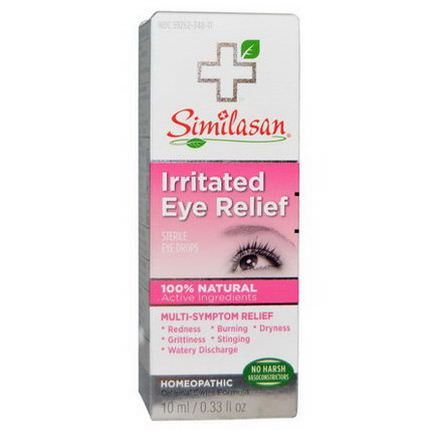 Similasan, Irritated Eye Relief, Sterile Eye Drops 10ml