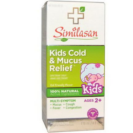 Similasan, Kids Cold&Mucus Relief 118ml