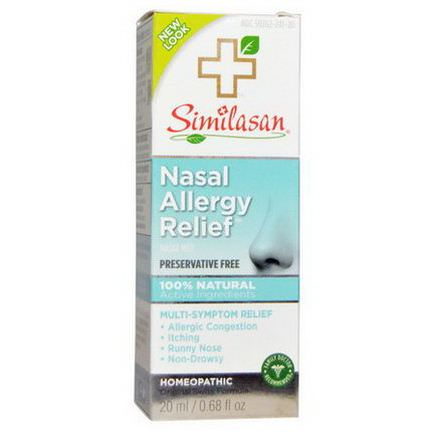 Similasan, Nasal Allergy Relief 20ml