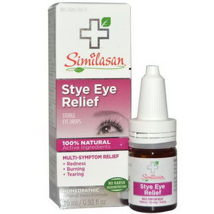 Similasan, Stye Eye Relief, Sterile Eye Drops 10ml