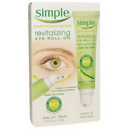 Simple Skincare, Revitalizing Eye Roll-On 15ml