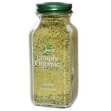 Simply Organic, Adobo Seasoning 125g