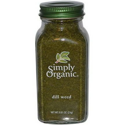 Simply Organic, Dill Weed 23g