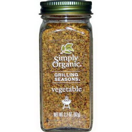 Simply Organic, Grilling Seasons, Vegetable, Organic 62g