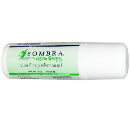 Sombra Professional Therapy, Natural Pain Relieving Roll-On Gel 85.05g