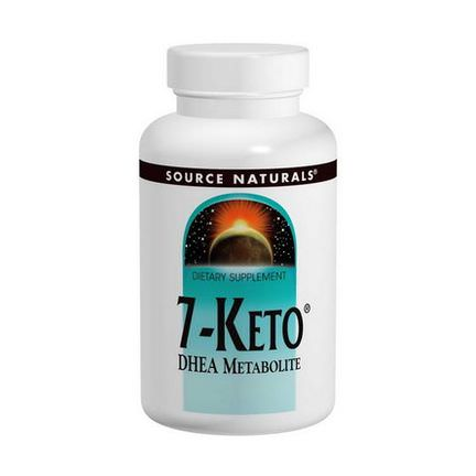 Source Naturals, 7-Keto, DHEA Metabolite, 50mg, 60 Tablets