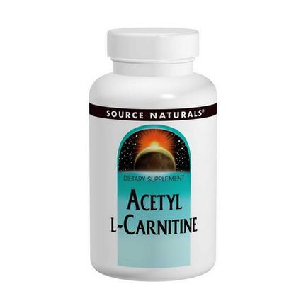 Source Naturals, Acetyl L-Carnitine, 250mg, 120 Tablets