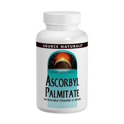 Source Naturals, Ascorbyl Palmitate, 500mg, 90 Tablets