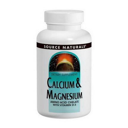 Source Naturals, Calcium&Magnesium, 300mg, 250 Tablets