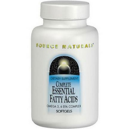 Source Naturals, Complete Essential Fatty Acids, 120 Softgels