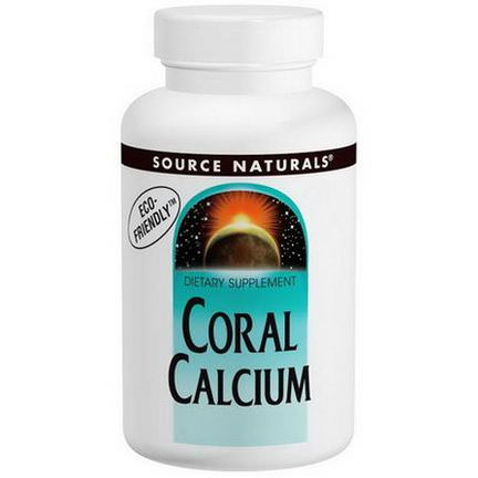 Source Naturals, Coral Calcium, 600mg, 120 Capsules