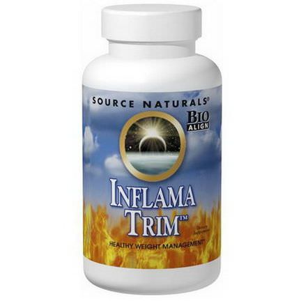 Source Naturals, Inflama-Trim, Healthy Weight Management, 120 Tablets