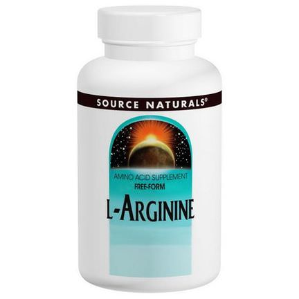 Source Naturals, L-Arginine, Free Form, 1000mg, 100 Tablets