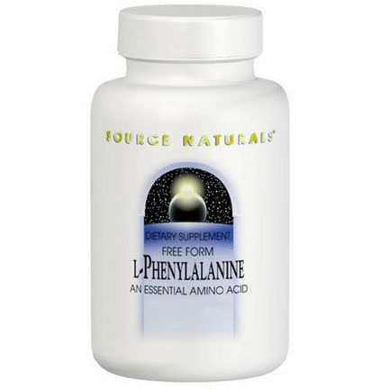 Source Naturals, L-Phenylalanine, 500mg, 100 Tablets