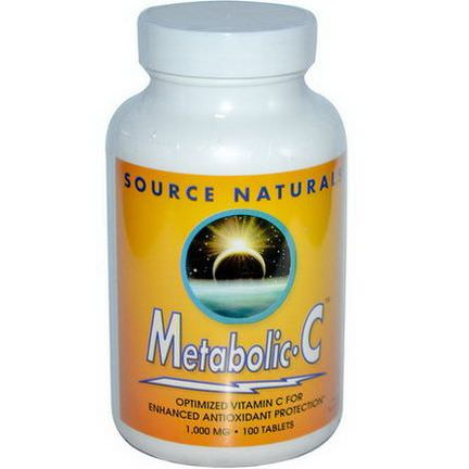 Source Naturals, Metabolic C, 1,000mg, 100 Tablets