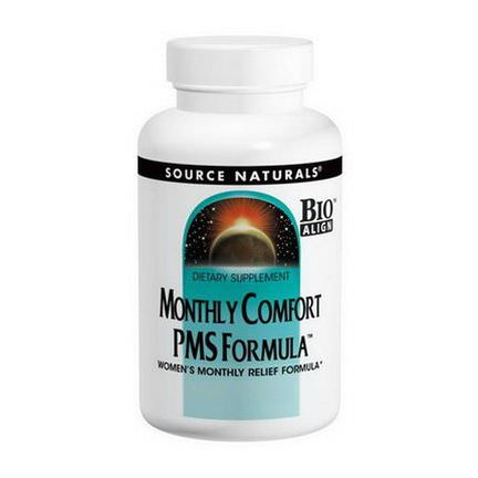 Source Naturals, Monthly Comfort PMS Formula, 90 Tablets