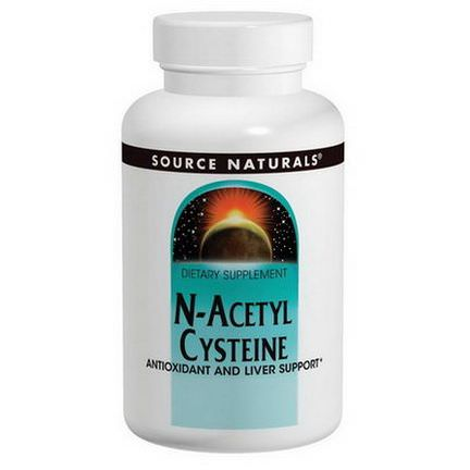 Source Naturals, N-Acetyl Cysteine, 1000mg, 120 Tablets