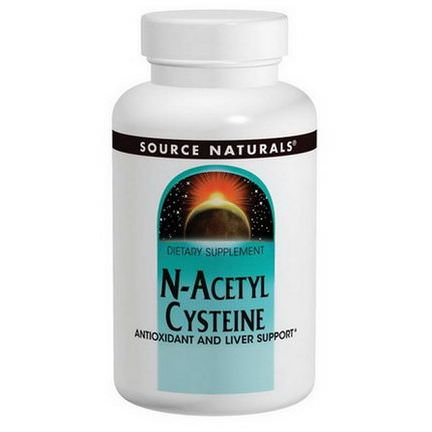 Source Naturals, N-Acetyl Cysteine, 600mg, 120 Tablets
